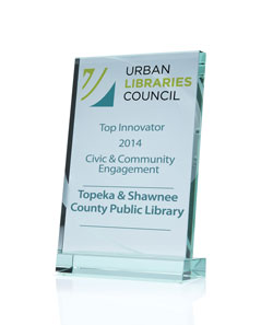 Urban Libraries Council, Top Innovater 2014