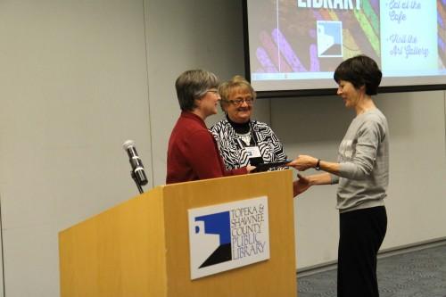 Friends member receives award