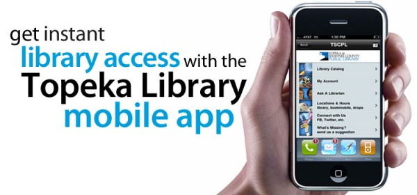 Library has a mobile app