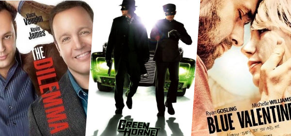 Dilemma, Green Hornet, Blue Valentine