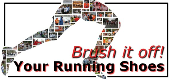 Brush it off! Your Running Shoes