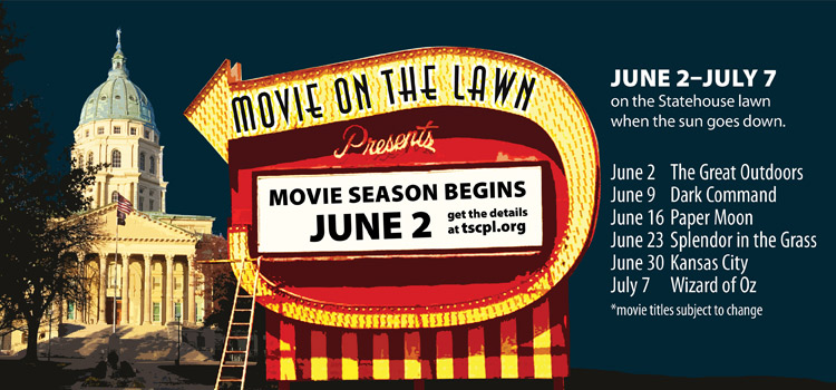 Ad for Movie on the Lawn series
