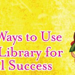 Use your library's back to school resources