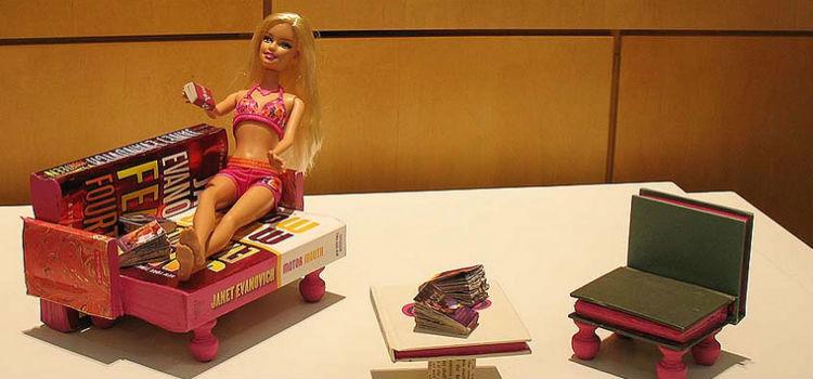Barbie book furniture