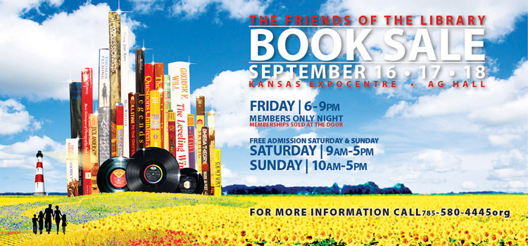 Attend the Friends of the Library Book Sale