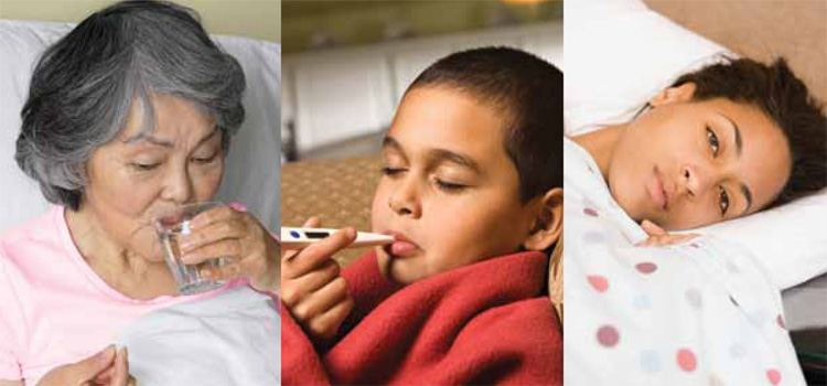 The Flu: Caring for Someone Sick At Home