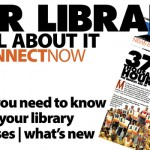 Read October November library programs, classes and news