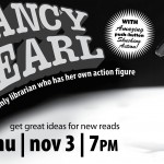 Nancy Pearl to visit library November 3