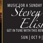Steven Elisha performs Oct. 9 at 3pm at the library