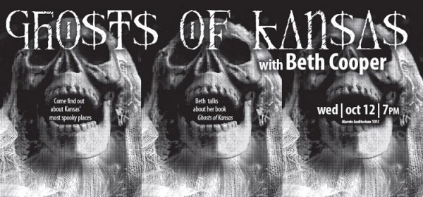 Beth Cooper talks about Ghosts of Kansas Oct. 12