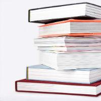 Books piled up - resized