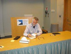 Chris Crutcher Signing Books