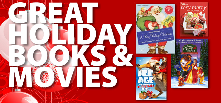 New holiday books, music and movies