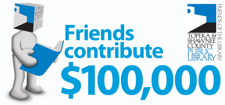 Friends of the Library contribute $100,000 to library