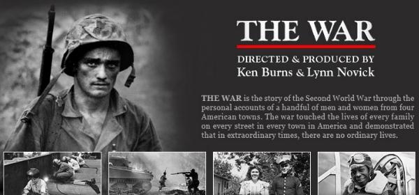 The War DVD by Ken Burns