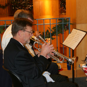 The Topeka Big Band played selections from great Swing Music!