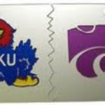 KU-KSU License Plate sized for blog