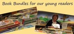 book bundles are created by children's librarian Kathy Ellison