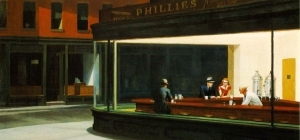 nighthawks edward hopper 1942 AIC 300 140