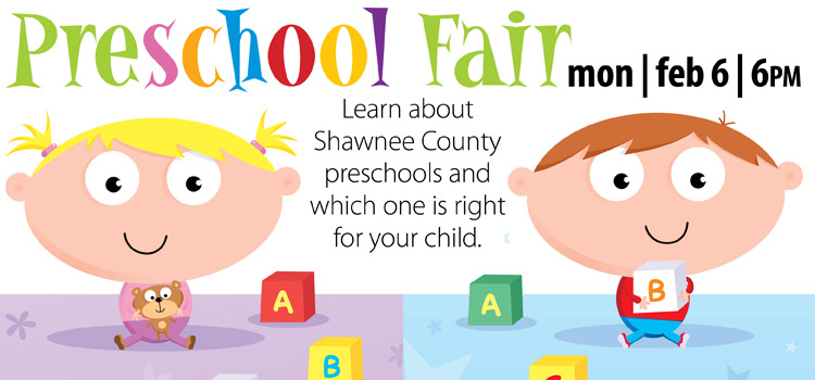Attend the Parents as Teachers Preschool Fair Feb. 6