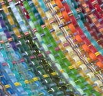 summery post woven glass