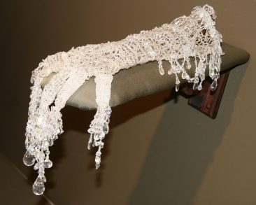hand-crocheted and beaded by Stephanie Lanter