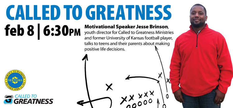 Jesse Brinson Called to Greatness