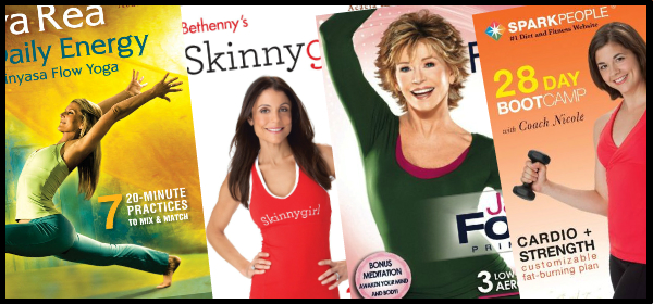 New Health and Exercise DVDs Feb 2012