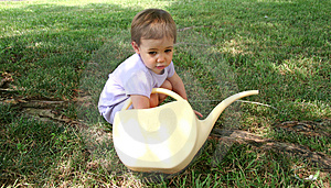 Baby watering can