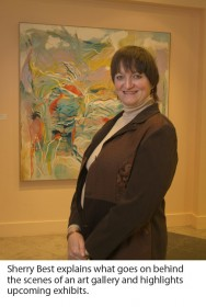 Sherry Best, Alice C. Sabatini Gallery Director
