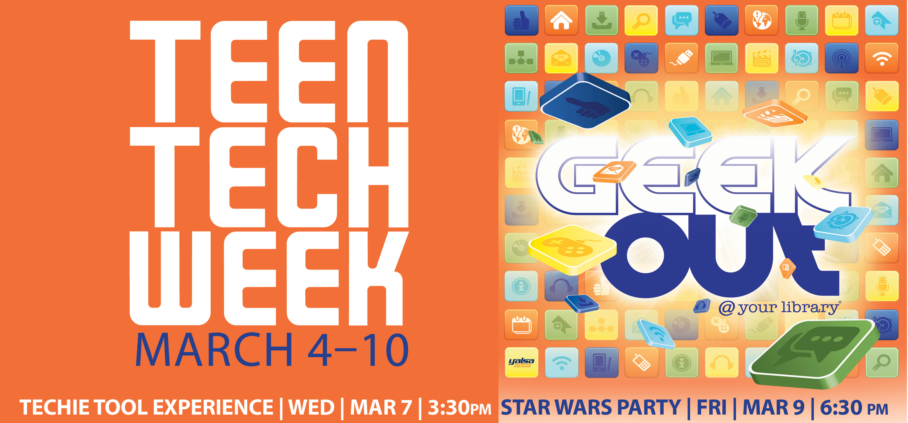 Celebrating Teen Tech Week at the library March 4-10