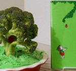 The Giving Tree edible book by Stella Mosher