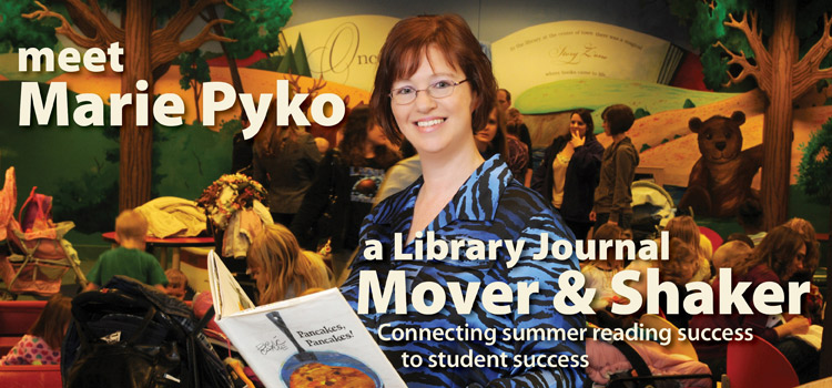 Marie Pyko named Library Journal mover and Shaker