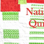 national quilting day banner