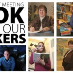 Use the library's speakers bureau
