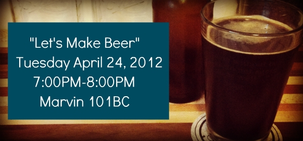 Come learn how to make beer at home!