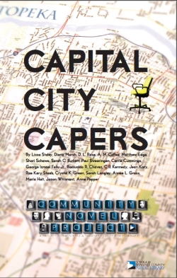 capital city capers  cover 2012 community novel project TSCPL