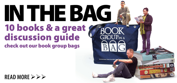 Check out our book bags for book clubs