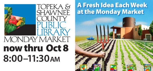 Come to our Monday Farmers Market