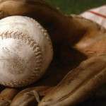 baseball - old fashioned glove & ball - featured pic