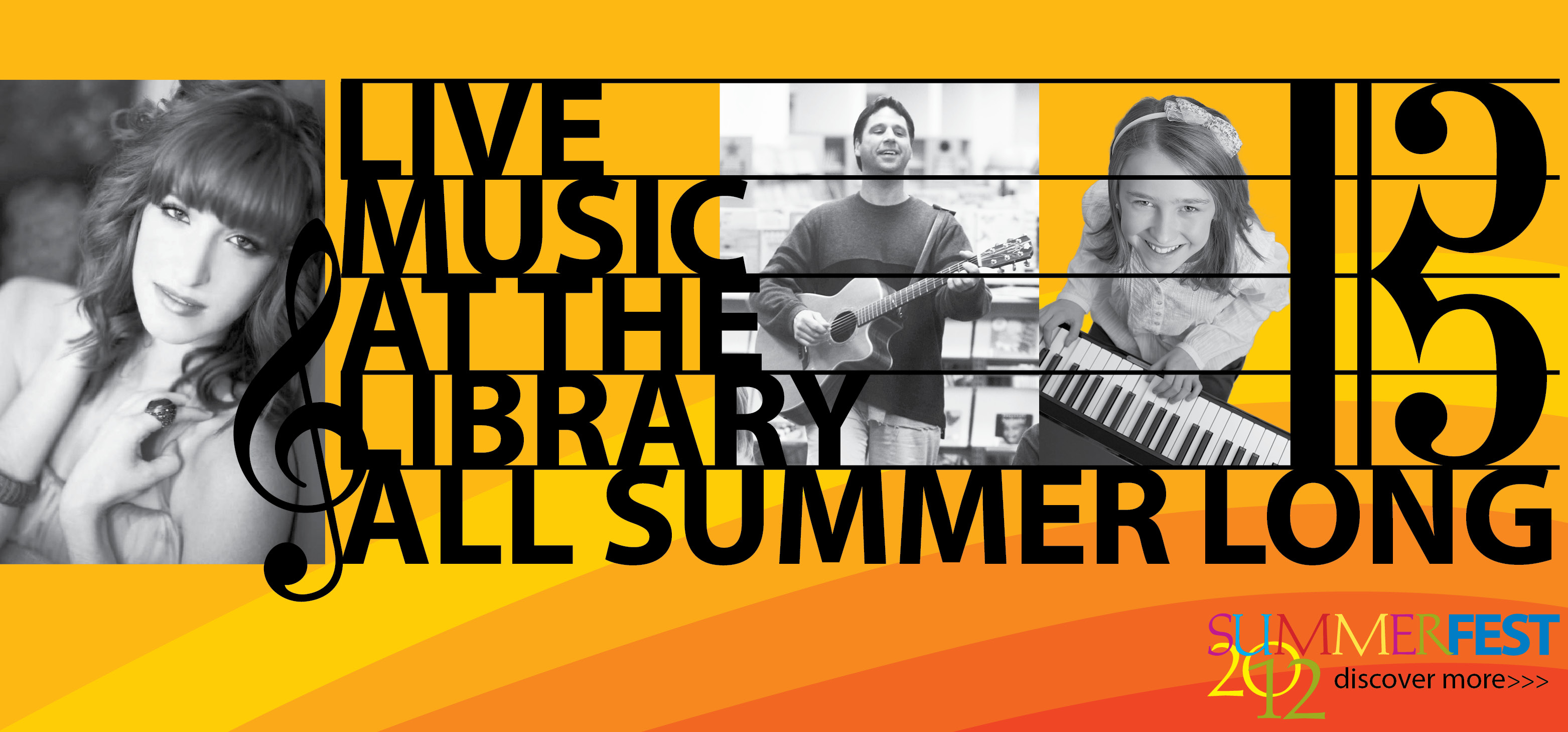 Live music at the library all summer long