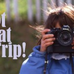 Travel photography banner