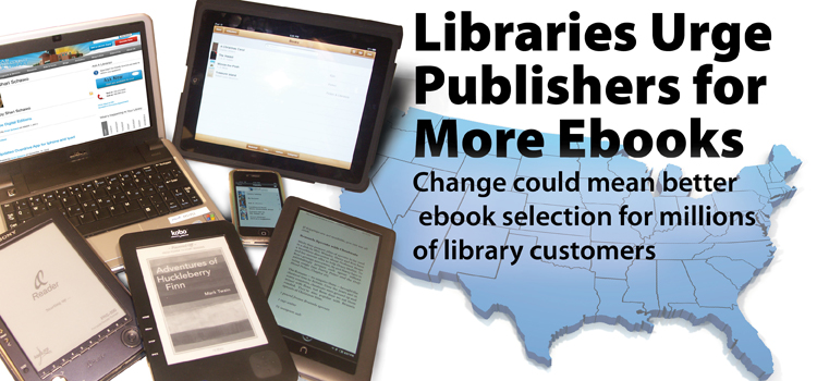 National campaign underway to fight for more access to ebooks for library customers