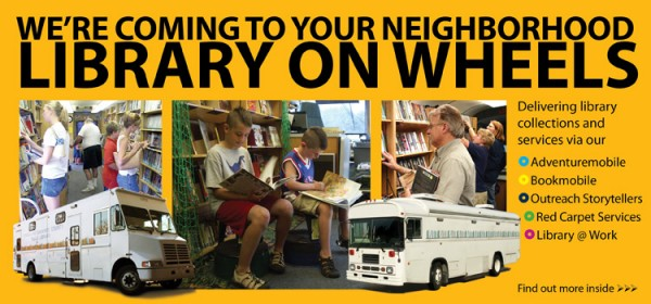 The library is your neighborhood.