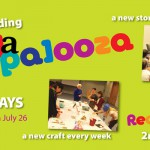 Join the fun at Readapalooza Tuesdays and Thursdays at 10 in the summer