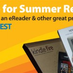 You could win an eReader by participating in summer reading