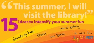 Use the library for all sorts of summer projects