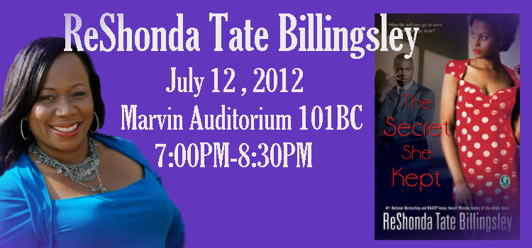 ReShonda Tate Billingsley at the Library
