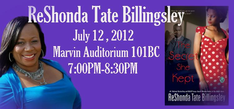 ReShonda Tate Billingsley at the Library