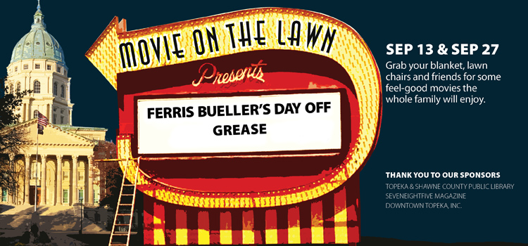 Come to Movie on the Lawn Sept. 13 and Sept. 27
